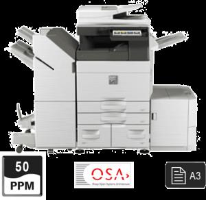 50ppm a3 printer