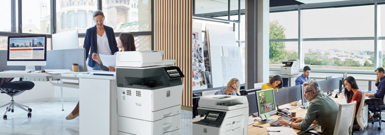 Sharp A4 Colour Printer MFP