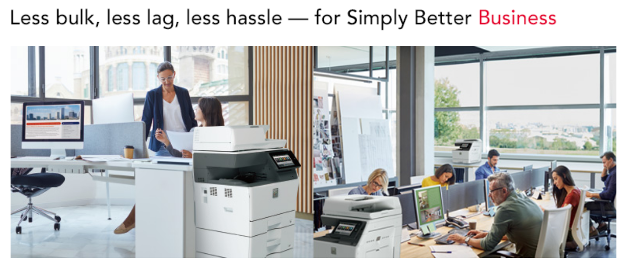 sharp simply reliable mfp