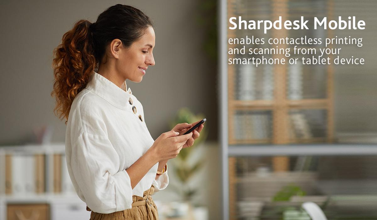Sharp-desk-mobile