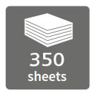350 sheets
